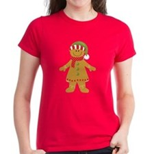 Gingerbread Girl Couples Tee