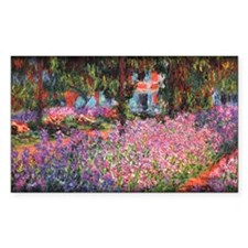 Irises in Monet's Garden 01 Monet, Decal