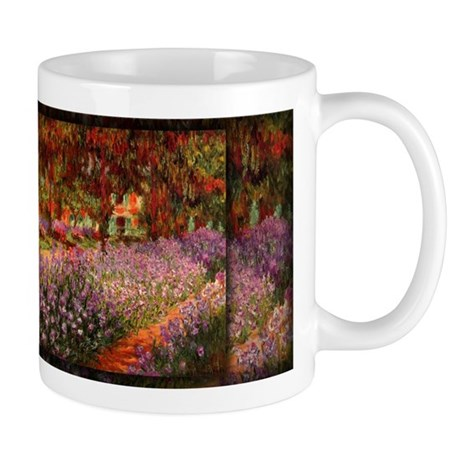 Irises in Monet's Garden 02 Monet, Mug