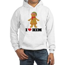 Gingerbread Girl Couples Hooded Sweatshirt