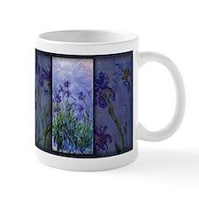 Monet Painting, Lilac Irises, Mug