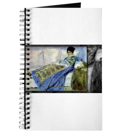 monet madame monet on the divan journal by thecafemarket