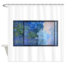 Morning on the Seine 02, Monet, Shower Curtain