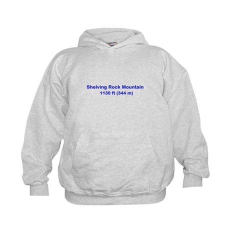 Shelving Rock Mountain Kids Hoodie
