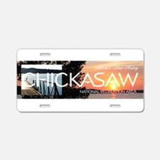 ABH Chickasaw Aluminum License Plate