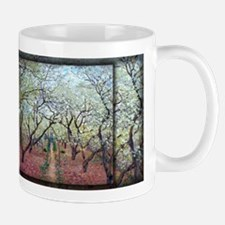 Monet Painting, Orchard in Bloom, Mug