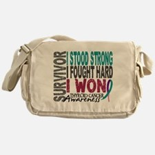 Survivor 4 Thyroid Cancer Shirts and Gifts Messeng