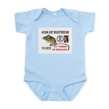 VOTE OFTEN Infant Bodysuit