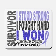 Survivor 4 Stomach Cancer Shirts and Gifts Mousepa