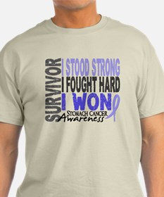 Survivor 4 Stomach Cancer Shirts and Gifts T-Shirt
