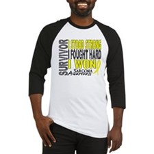 Survivor 4 Sarcoma Shirts and Gifts Baseball Jerse