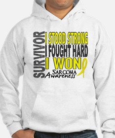 Survivor 4 Sarcoma Shirts and Gifts Hoodie