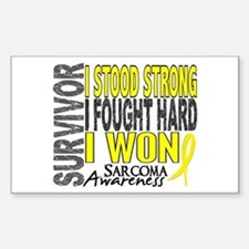 Survivor 4 Sarcoma Shirts and Gifts Decal
