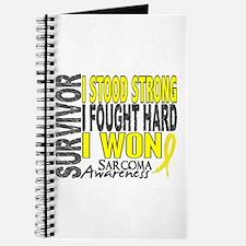 Survivor 4 Sarcoma Shirts and Gifts Journal