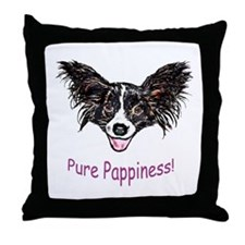 Papillon Throw Pillow