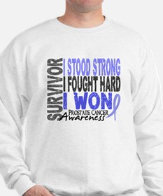 Survivor 4 Prostate Cancer Shirts and Gifts Sweats