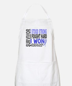 Survivor 4 Prostate Cancer Shirts and Gifts Apron
