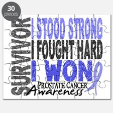 Survivor 4 Prostate Cancer Shirts and Gifts Puzzle