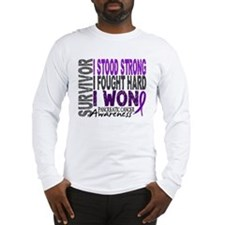 Survivor 4 Pancreatic Cancer Shirts and Gifts Long