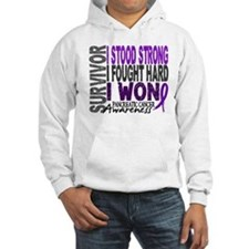 Survivor 4 Pancreatic Cancer Shirts and Gifts Hood
