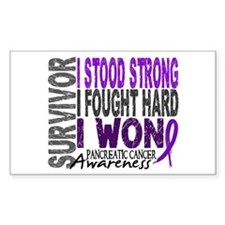 Survivor 4 Pancreatic Cancer Shirts and Gifts Stic