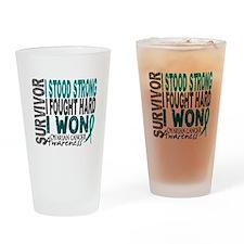 Survivor 4 Ovarian Cancer Shirts and Gifts Drinkin