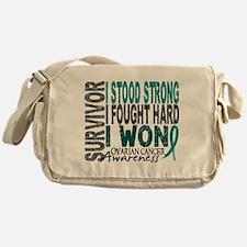 Survivor 4 Ovarian Cancer Shirts and Gifts Messeng