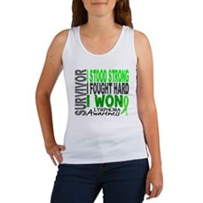 Survivor 4 Lymphoma Shirts and Gifts Women's Tank