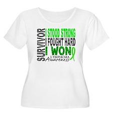 Survivor 4 Lymphoma Shirts and Gifts T-Shirt