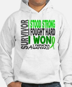 Survivor 4 Lymphoma Shirts and Gifts Hoodie
