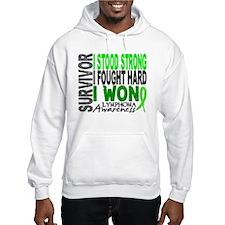 Survivor 4 Lymphoma Shirts and Gifts Jumper Hoody