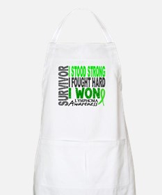 Survivor 4 Lymphoma Shirts and Gifts Apron