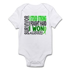 Survivor 4 Lymphoma Shirts and Gifts Infant Bodysu
