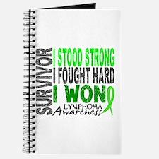 Survivor 4 Lymphoma Shirts and Gifts Journal