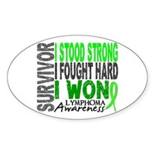 Survivor 4 Lymphoma Shirts and Gifts Decal