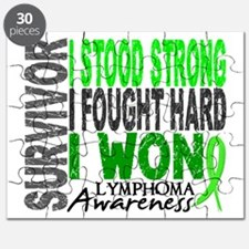 Survivor 4 Lymphoma Shirts and Gifts Puzzle