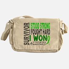 Survivor 4 Lymphoma Shirts and Gifts Messenger Bag
