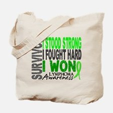 Survivor 4 Lymphoma Shirts and Gifts Tote Bag