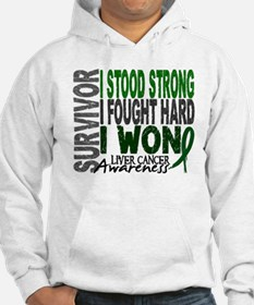 Survivor 4 Liver Cancer Shirts and Gifts Hoodie