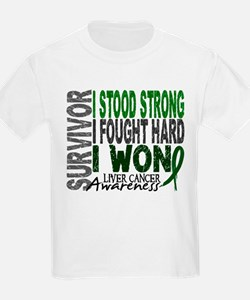 Survivor 4 Liver Cancer Shirts and Gifts T-Shirt
