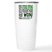 Survivor 4 Liver Cancer Shirts and Gifts Travel Mug