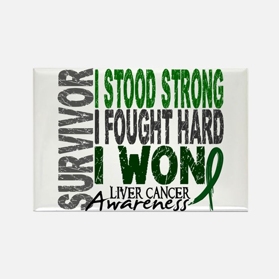 Survivor 4 Liver Cancer Shirts and Gifts Rectangle