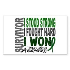 Survivor 4 Liver Cancer Shirts and Gifts Decal