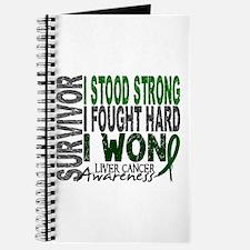 Survivor 4 Liver Cancer Shirts and Gifts Journal