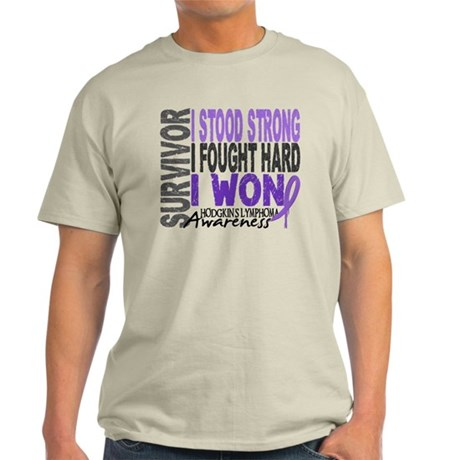 Survivor 4 Hodgkin's Lymphoma Shirts and Gifts Lig