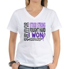 Survivor 4 Hodgkin's Lymphoma Shirts and Gifts Wom