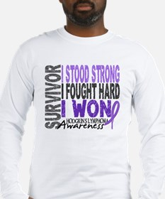Survivor 4 Hodgkin's Lymphoma Shirts and Gifts Lon