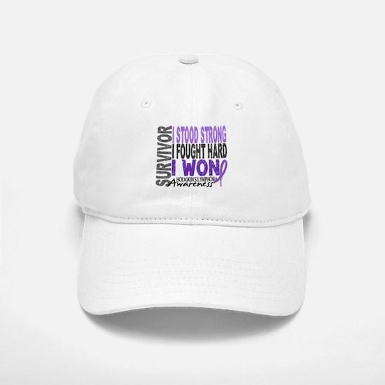 Survivor 4 Hodgkin's Lymphoma Shirts and Gifts Baseball Baseball Cap