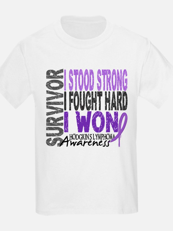 Survivor 4 Hodgkin's Lymphoma Shirts and Gifts Kid