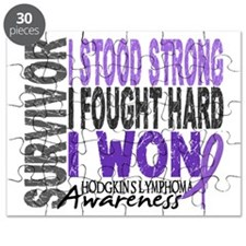 Survivor 4 Hodgkin's Lymphoma Shirts and Gifts Puz